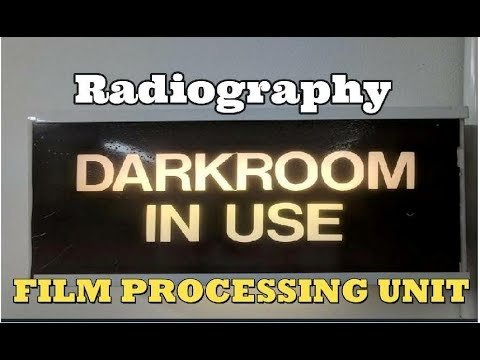 Darkroom Film Processing for Radiography