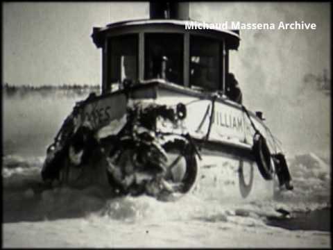 Massena Alcoa William Hoopes Tugboat 1953