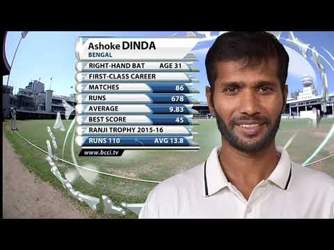 ASHOK DINDA - The Bowler (When Time Of IPL Auctions)