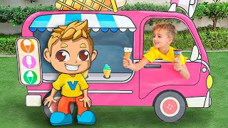 Download Little driver Niki play with cars and help his friends