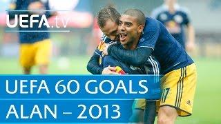 Alan v Standard Liège, 2013: 60 Great UEFA Goals