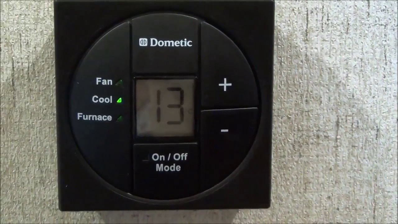 How to Use Dometic's Digital RV Thermostat