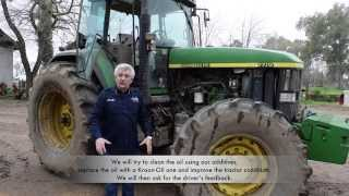 John Deere 7710. Tractor Service and how to solve engine problems