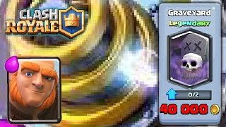 clash royale best giant sparky deck   graveyard in the shop