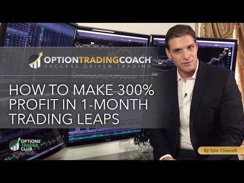 How to Make 300% Profit in 1-Month Trading LEAPS
