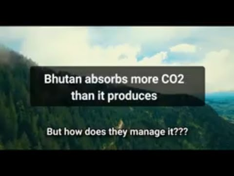 Bhutan - World's First Carbon Negative Country