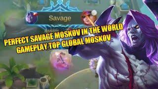 MOSKOV SAVAGE TERBAIK!! DI GENG MUSUHNYA YANG MATI!! - MOBILE LEGENDS INDONESIA