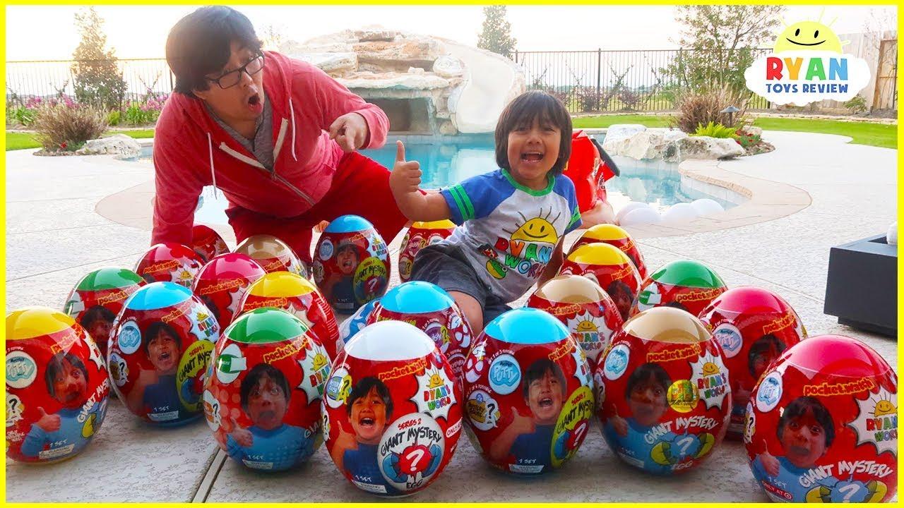 Huge Easter Egg Hunt Surprise Toys For Kids Youtube