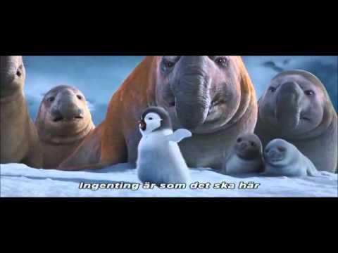 Favorite scene from Happy Feet 2 (Eric sings)