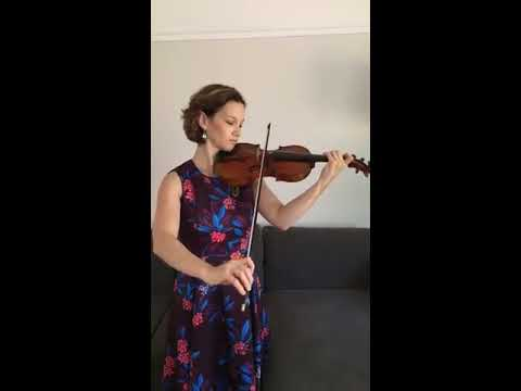 Hilary Hahn - Bach Sonata No.2 III. Andante (Instagram ... Hilary Hahn Instagram