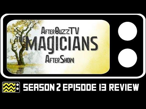 The Magicians Season 2 Episode 13  w Rick Worthy  AfterBuzz TV