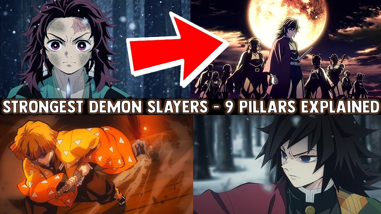 The SECRET Behind Demon Slayers - 9 Pillars & Their Breath Styles Explained  (Kimetsu no Yaiba)