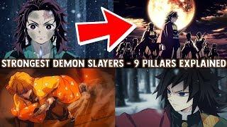 The SECRET Behind Demon Slayers - 9 Pillars & Their Breath Styles Explained (Kimetsu no Yaiba)