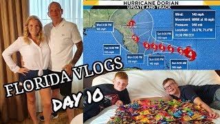 FLORIDA VLOGS 2019 ~ HURRICANE DORIAN & BAHAMA BREEZE ~ DAY 10 🇺🇸