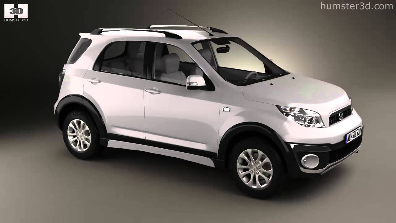 Daihatsu terios 2013 by 3d model store humster3d youtube sciox Choice Image