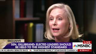 Gillibrand hedges on saying Clinton should have resigned: He didn't create an unsafe environment