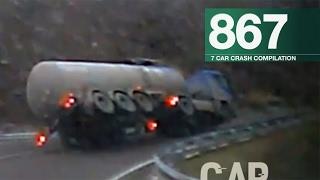 Car Crashes Compilation 867 - January 2017