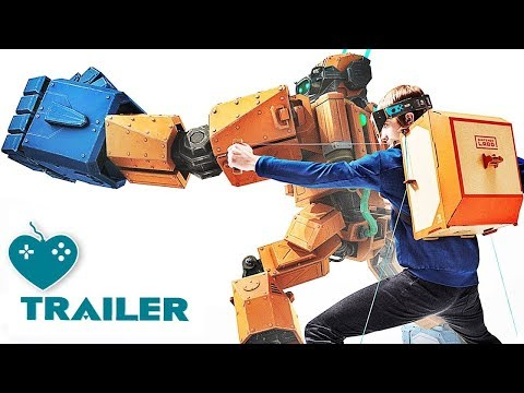 Nintendo Labo Overview Trailer (2018) All You Need to Know About the DIY Switch Game