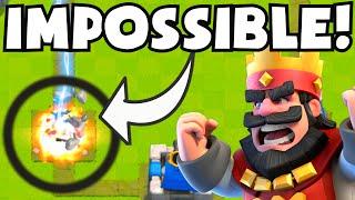 Clash Royale IMPOSSIBLE DOUBLE OVERTIME MATCH (BUG/GLITCH?) | Funniest/Weirdest Battle Ever