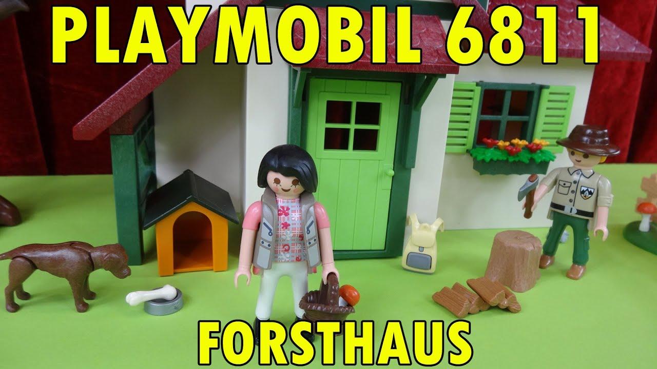 PLAYMOBIL 6811 Forsthaus\