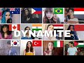 Who Sang It Better :BTS (방탄소년단 ) - Dynamite ( 12 different countries )