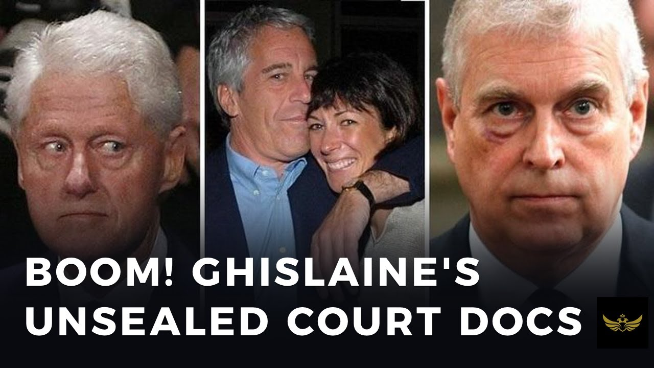 BOOM! Ghislaine Maxwell, unsealed court records