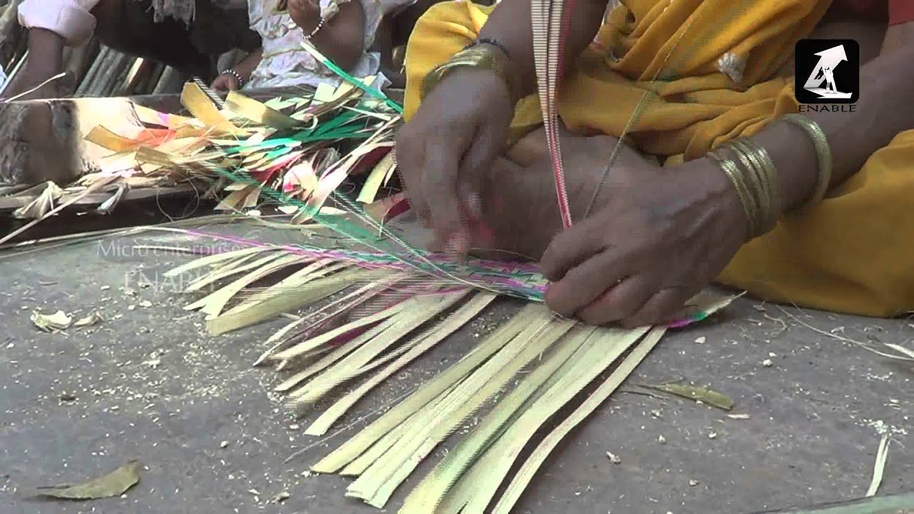 how to make bamboo fan