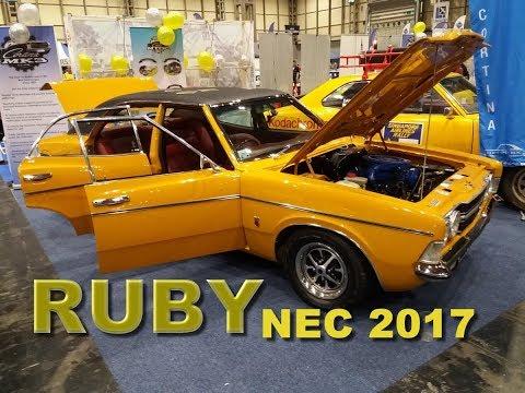 Mk3 Cortina - Project Ruby NEC Classic Car Show 2017