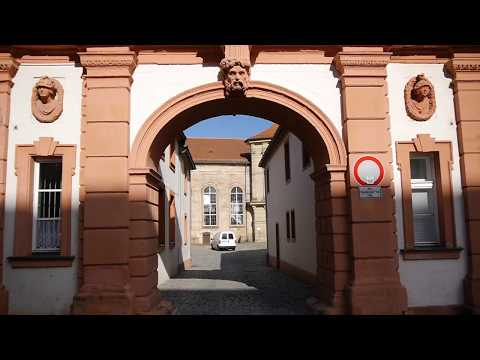 D: Bayreuth. Bavaria. Germany. Exploring the City Center. August 2017