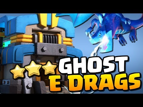 NEW STRATEGY! Ghost Electro Dragons - Electrone TH12 Attack Strategy | Clash of Clans |