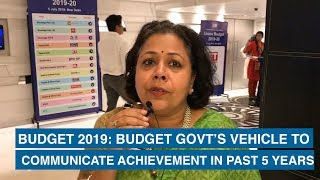 Budget 2019: Budget govt's vehicle to communicate achievement in past 5 years