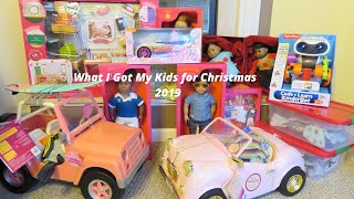 What I Got My Kids For Christmas 2019