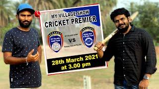 My Village Show vs Prasad Tech in Telugu | Cricket Match