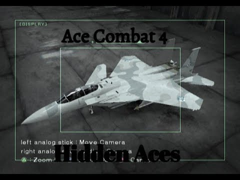ALL HIDDEN ACES | Ace Combat 4: Shattered Skies
