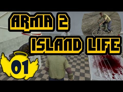Arma 2 Island Life | 500'000$, Vélo & Organes humains ! | #01 [FR-HD]