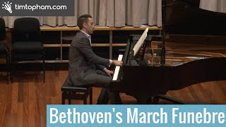 Beethoven Piano Sonata No 12 Op 26 3rd Movement - Marche Funebre