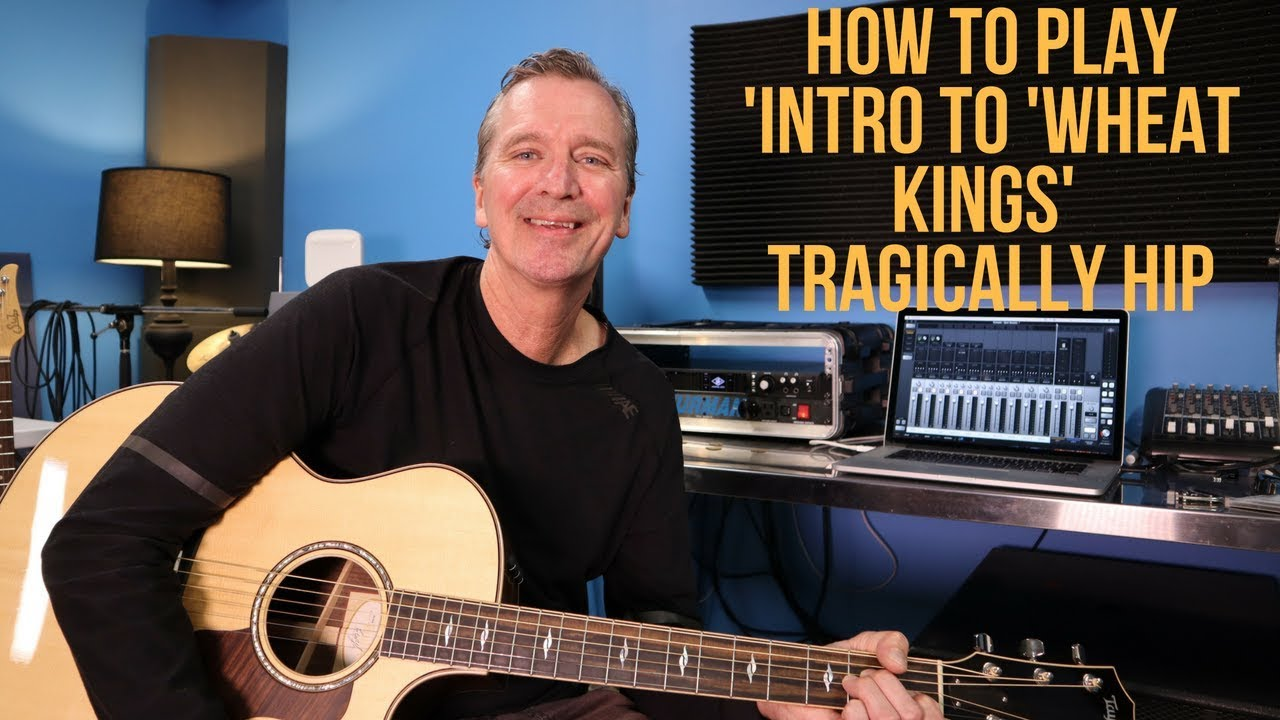 How To Play The Intro To Wheat Kings Lead Part By The Tragically