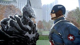 captain america vs batman worst nightmare