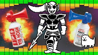 Undertale Spear of Justice - MLG Airhorn Remix