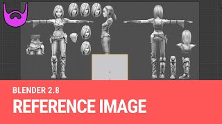 Using Reference Images in Blender 2.8