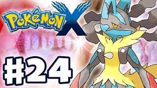 Pokemon X and Y - Gameplay Walkthrough Part 24 - Mega Evolution! (Nintendo 3DS)