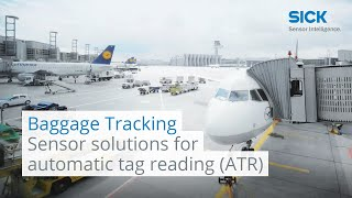 Sensor solutions for automatic tag reading (ATR) at airports | SICK AG