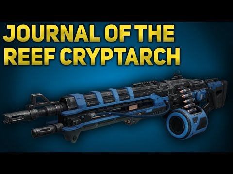 Journal of the Reef Cryptarch Step 4  How to Get Thunderlord  Destiny 2 Forsaken