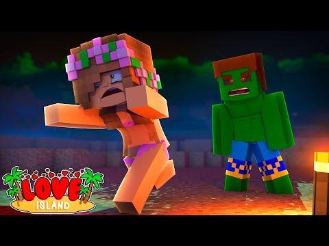MY EX BOYFRIEND IS A ZOMBIE! | Minecraft Love Island | Little Kelly