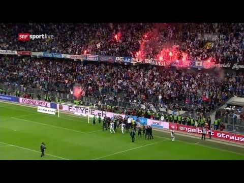 Cupsieg 2013 - Penaltyschiessen & Feier - Grasshopper Club Zürich
