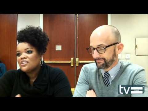 Yvette Nicole Brown and Jim Rash (Community Season 3) Interview - March 2012