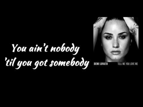 Mix - Demi Lovato - Tell Me You Love Me (Lyrics Video)