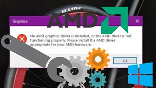 How to Uninstall AMD Driver in Safe Mode (No AMD Graphics driver is installed error)