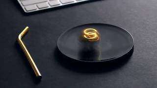 Halospheres Desk Toy - Spin It To See The Light