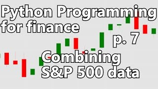 Combining S&P 500 into one DataFrame - Python Programming for Finance p. 7